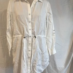 Coldwater Creek Jackets & Coats - Coldwater Creek White Jacket Size Large